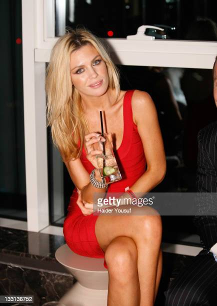 Abbey Clancy attends the new Embassy Club launch on November 16 2011 in Dubai United Arab Emirates