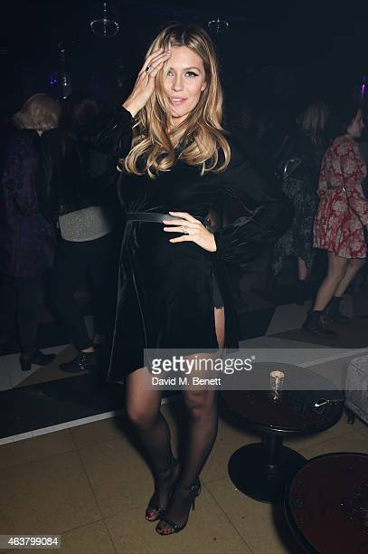 Abbey Clancy attends the NME Awards after party at Cuckoo Club on February 18 2015 in London England