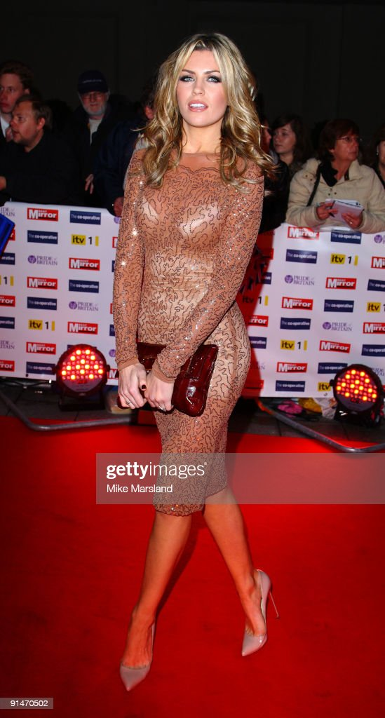 Abbey Clancy attends the Pride Of Britain Awards at Grosvenor House, on October 5, 2009 in London, England.