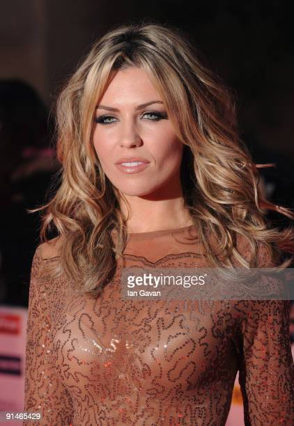 Abbey Clancy attends the Pride of Britain Awards at the Grosvenor House Hotel on October 5 2009 in London England