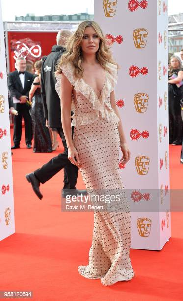Abbey Clancy attends the Virgin TV British Academy Television Awards at The Royal Festival Hall on May 13 2018 in London England