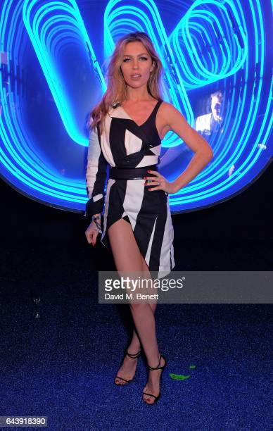 Abbey Clancy attends The Warner Music Ciroc Brit Awards After Party on February 22 2017 in London England