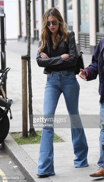 Abbey Clancy sighting on March 30 2017 in London England