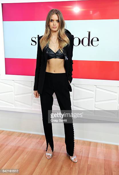 Abbey Lee appears on Amazon's Style Code Live on June 22 2016 in New York City