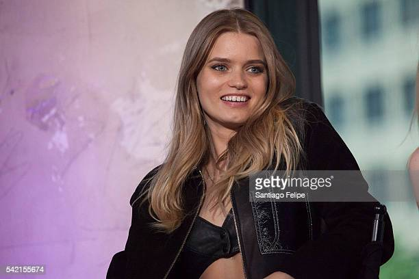 Abbey Lee attends AOL Build Presents 'The Neon Demon' at AOL Studios In New York on June 22 2016 in New York City