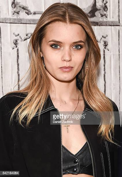 Abbey Lee attends AOL Build to discuss the film 'The Neon Demon' at AOL Studios on June 22 2016 in New York City
