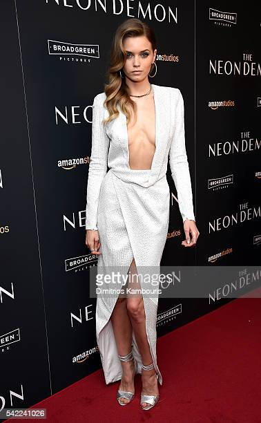 Abbey Lee attends 'The Neon Demon' New York Premiere at Metrograph on June 22 2016 in New York City