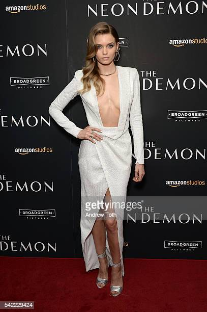Abbey Lee attends the 'The Neon Demon' New York premiere at Metrograph on June 22 2016 in New York City