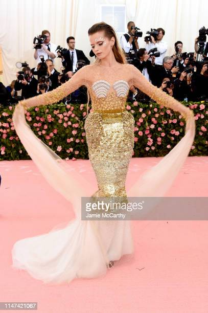 Abbey Lee Kershaw attends The 2019 Met Gala Celebrating Camp Notes on Fashion at Metropolitan Museum of Art on May 06 2019 in New York City