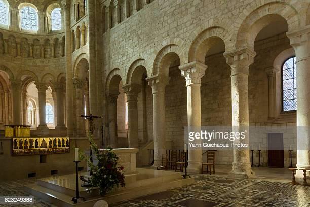 Abbey Of Fleury, Saint Benoit Sur Loire, Loiret,France