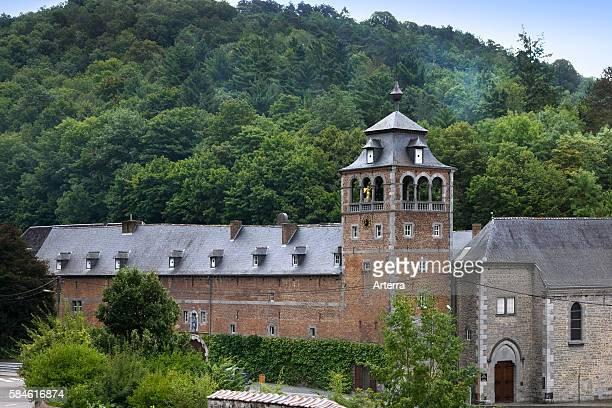 Abbey of Leffe / Abbaye NotreDame de Leffe at Dinant Belgium