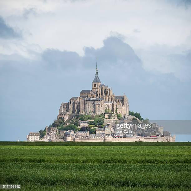 Abbaye de Mont-Saint-Michel en France