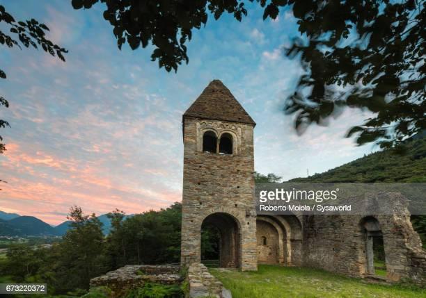 Abbey of San Pietro in Vallate Valtellina Lombardy Italy