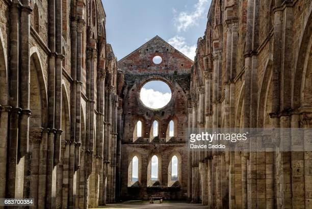 Abbey of St Galgano in Tuscany