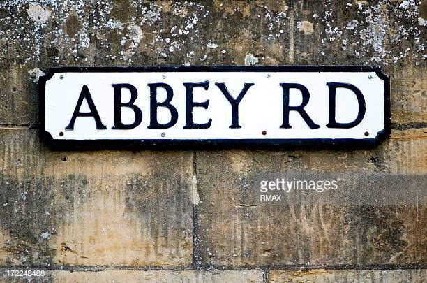 Abbey Road sign