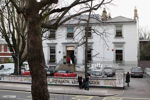 Abbey Road Studios in St John's Wood on March 5, 2012 in London, England. Abbey Road in North London has been made famous by 1960s bands such as The...
