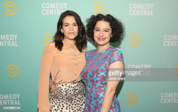 Abbi Jacobson and Ilana Glazer attend the 2019 Comedy Central Press Day on January 11, 2019 in Hollywood, California.