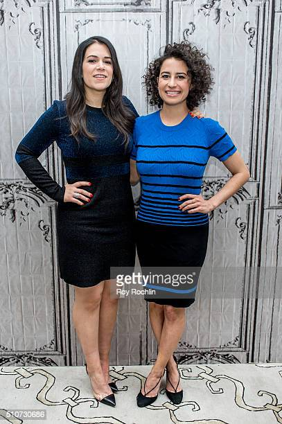 Abbi Jacobson and Ilana Glazer discuss season 3 of their Comedy Central show 'Broad City' during AOL Build Speaker Series at AOL Studios In New York...