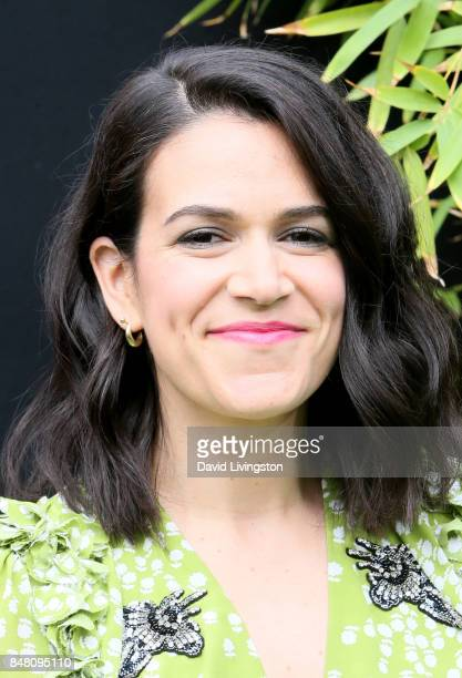 Abbi Jacobson at the premiere of Warner Bros Pictures' 'The LEGO Ninjago Movie' at Regency Village Theatre on September 16 2017 in Westwood California