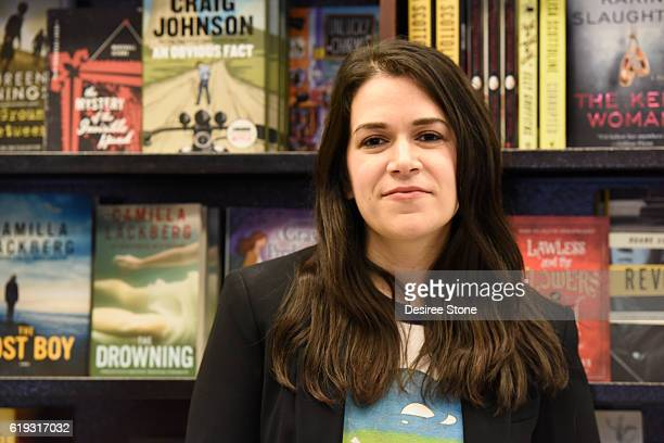 Abbi Jacobson attends a book signing for her book Carry This Book at Barnes Noble at The Grove on October 30 2016 in Los Angeles California