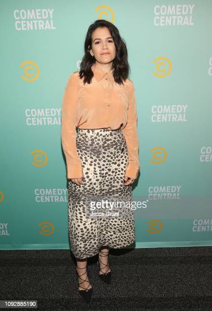 Abbi Jacobson attends the 2019 Comedy Central Press Day on January 11 2019 in Hollywood California