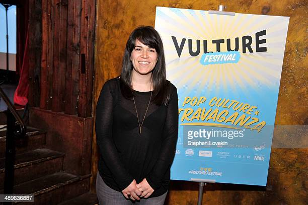 Abbi Jacobson attends Vulture Festival Comedy Night at The Bell House on May 11 2014 in New York City