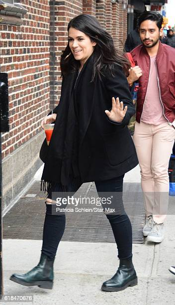 Abbi Jacobson is seen on October 26 2016 in New York City