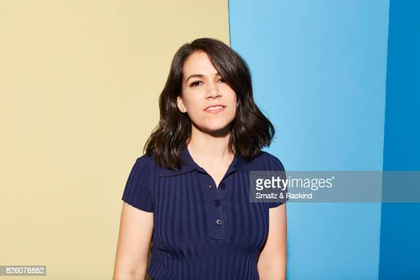 Abbi Jacobson of Comedy Central/Viacom's 'Broad City' posse for a portrait during the 2017 Summer Television Critics Association Press Tour at The...