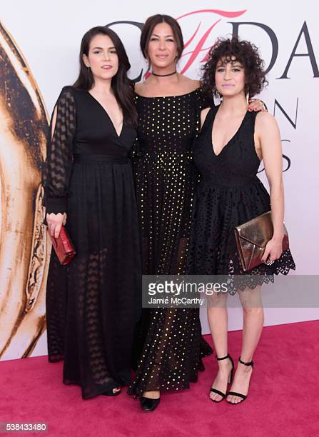 Abbi Jacobson Rebecca Minkoff and Ilana Glazer attends the 2016 CFDA Fashion Awards at the Hammerstein Ballroom on June 6 2016 in New York City