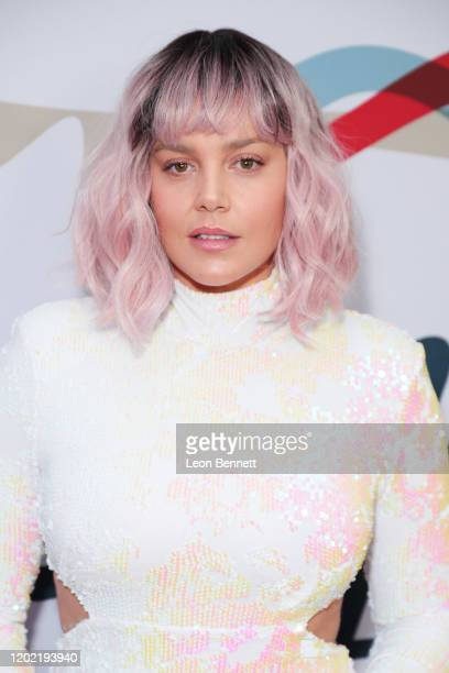 Abbie Cornish arrives at Steven Tyler's Third Annual Grammy Awards Viewing Party to benefit Janie's Fund presented by Live Nation at Raleigh Studios...
