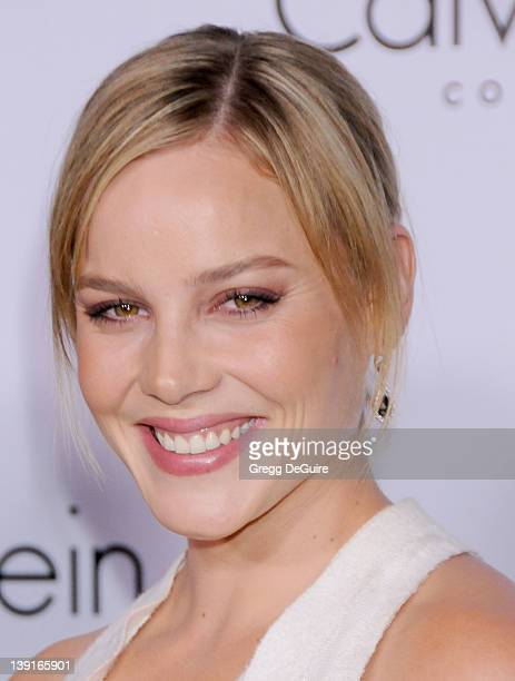 Abbie Cornish arrives at the Calvin Klein Collection and Los Angeles Nomadic Division Present L.A. Arts Month on January 28, 2010 in Los Angeles,...