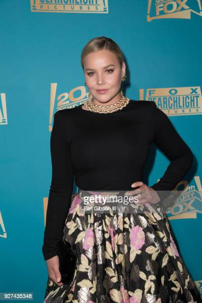Abbie Cornish attend Fox Searchlight And 20th Century Fox Host Oscars PostParty on March 4 2018 in Los Angeles California