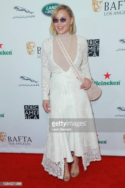 Abbie Cornish attends BAFTA Los Angeles BBC America TV Tea Party 2018 at The Beverly Hilton Hotel on September 15 2018 in Beverly Hills California