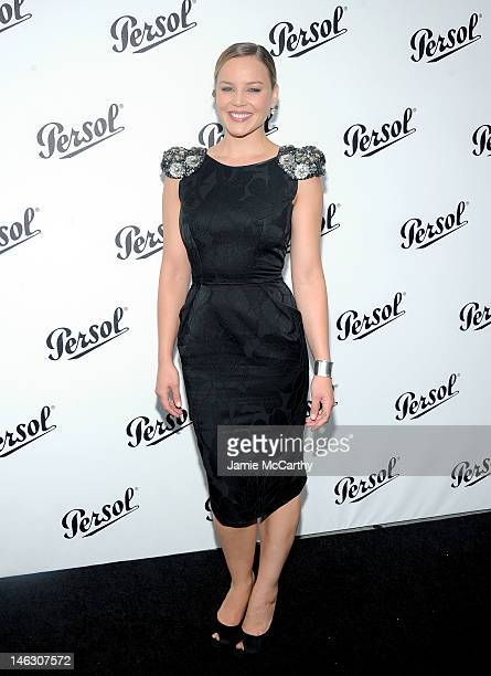 Abbie Cornish attends Persol Magnificent Obsessions 30 Stories Of Craftmanship In Film Event at Museum of the Moving Image on June 13 2012 in the...