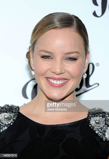 Abbie Cornish attends Persol Magnificent Obsessions: 30 Stories Of Craftmanship In Film Event at Museum of the Moving Image on June 13, 2012 in the...