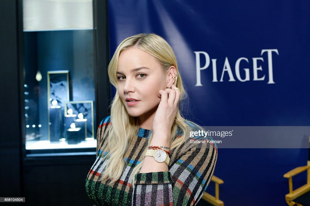 Abbie Cornish attends Piaget Celebrates Brand Ambassador Michael B. Jordan In Support Of Lupus LA at Piaget on October 5, 2017 in Beverly Hills, California.