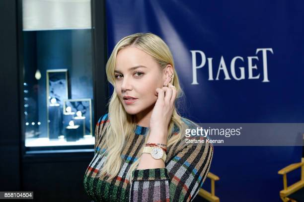 Abbie Cornish attends Piaget Celebrates Brand Ambassador Michael B Jordan In Support Of Lupus LA at Piaget on October 5 2017 in Beverly Hills...
