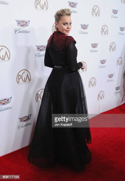 Abbie Cornish attends the 29th Annual Producers Guild Awards at The Beverly Hilton Hotel on January 20 2018 in Beverly Hills California
