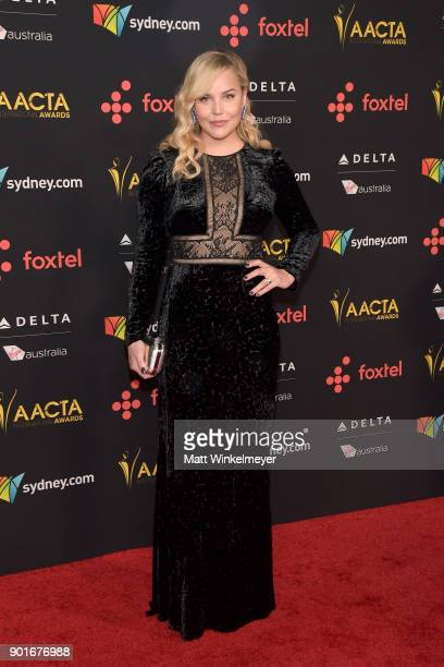 Abbie Cornish attends the 7th AACTA International Awards at Avalon Hollywood in Los Angeles on January 5 2018 in Hollywood California