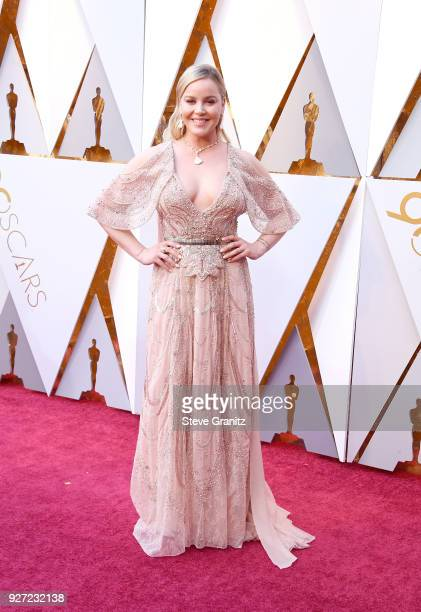 Abbie Cornish attends the 90th Annual Academy Awards at Hollywood Highland Center on March 4 2018 in Hollywood California