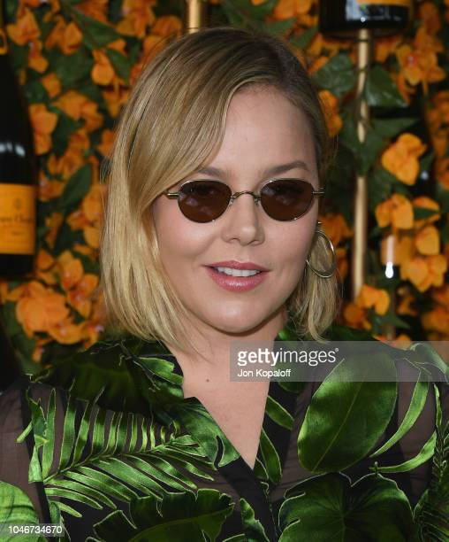 Abbie Cornish attends the 9th Annual Veuve Clicquot Polo Classic Los Angeles at Will Rogers State Historic Park on October 6 2018 in Pacific...