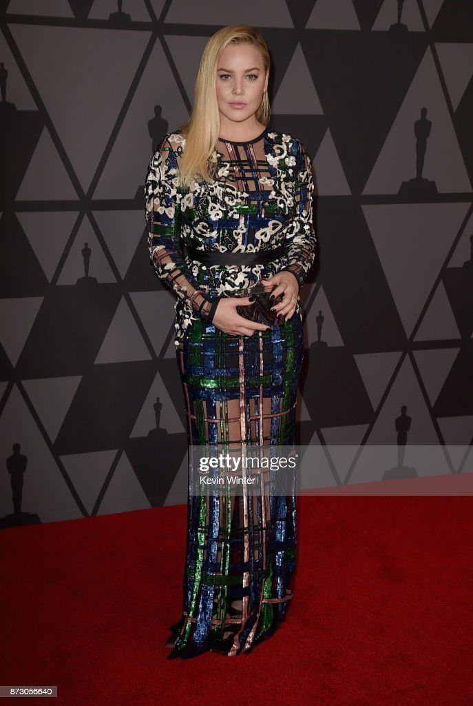 Abbie Cornish attends the Academy of Motion Picture Arts and Sciences' 9th Annual Governors Awards at The Ray Dolby Ballroom at Hollywood & Highland Center on November 11, 2017 in Hollywood, California.