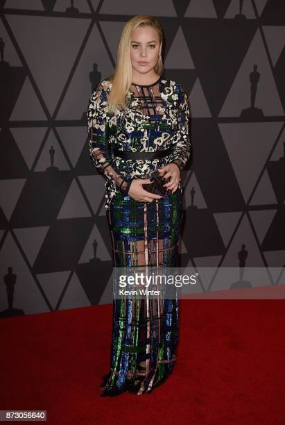 Abbie Cornish attends the Academy of Motion Picture Arts and Sciences' 9th Annual Governors Awards at The Ray Dolby Ballroom at Hollywood Highland...