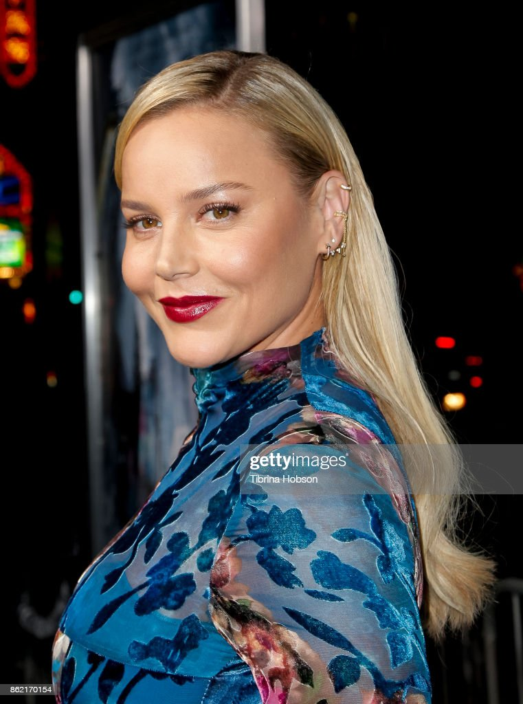 Abbie Cornish attends the premiere of Warner Bros. Pictures 'Geostorm' at TCL Chinese Theatre on October 16, 2017 in Hollywood, California.