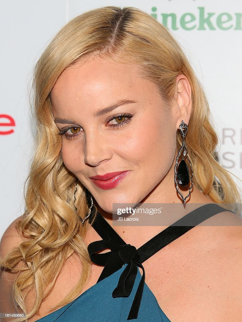 Abbie Cornish attends the Warner Music Group 2013 Grammy Celebration Presented By Mini at Chateau Marmont on February 10, 2013 in Los Angeles, California.
