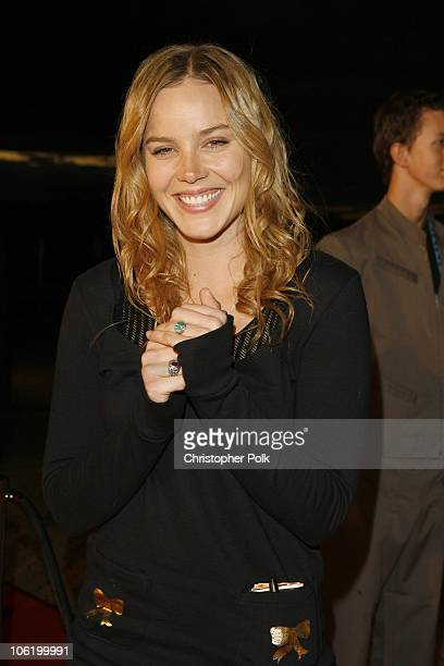 Abbie Cornish during MTV Australia Video Music Awards 2007 Red Carpet at Superdome in Sydney NSW Australia