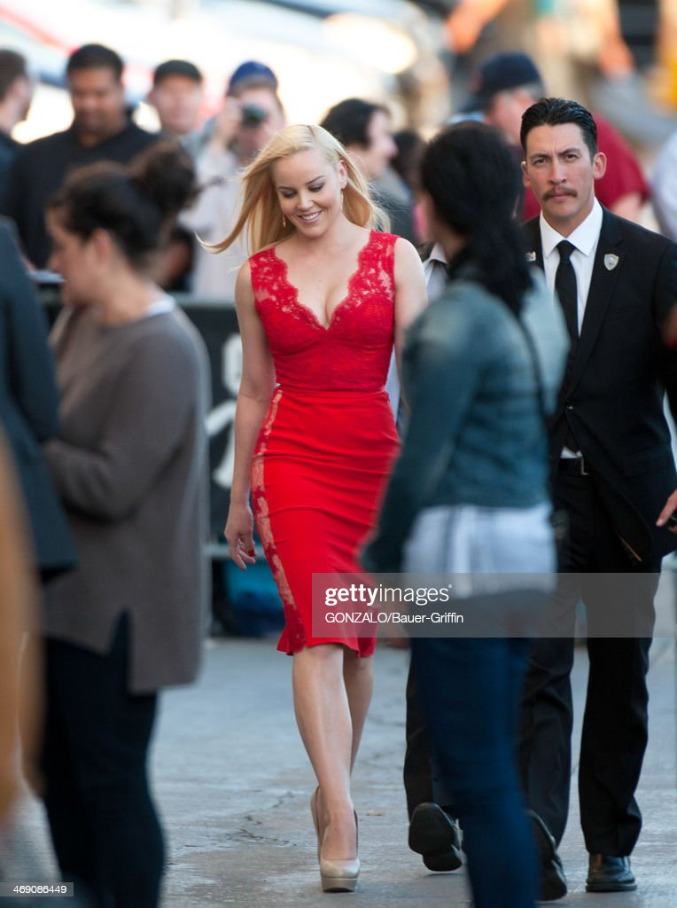 Abbie Cornish is seen on February 12, 2014 in Los Angeles, California.