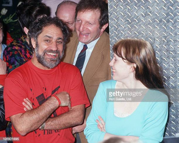 Abbie Hoffman and Amy Carter during I Spy Ball March 27 1987 at The Saint in New York City New York United States