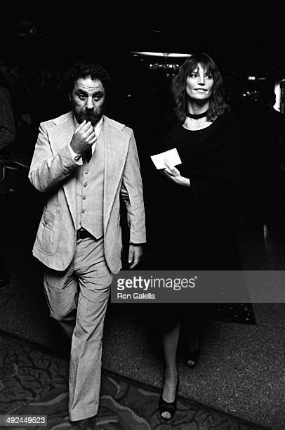 Abbie Hoffman and Johanna Lawrenson attend 10th Anniversary Party for Poets and Writers on October 22 1980 at Roseland in New York City