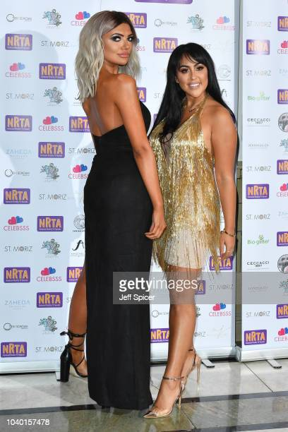 Abbie Holborn and Sophie Kasaei attend the National Reality TV Awards held at Porchester Hall on September 25 2018 in London England